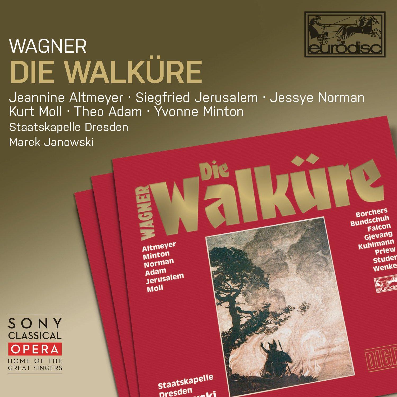 CD : Jessye Norman - Kurt Moll - Jeannine Altmeyer - Siegfried Jerusalem - Yvonne Minton - Theo Adam - Wagner: Die Walkure (Boxed Set, 4PC)