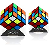 CACUSN スピードキューブ 2個セット(3×3、3×3) 世界配色ver.2.1 スムーズ