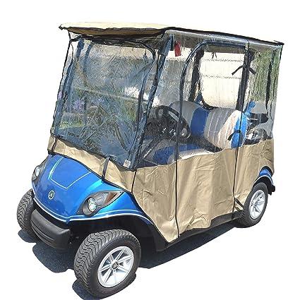 Amazon.com : Formosa Covers Golf Cart Driving Enclosure for Yamaha on monster cart, car cart, ups go cart,