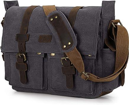 Simple Retro Large-Capacity Waterproof SLR Camera Bag Canvas Shoulder Bag Messenger Bag