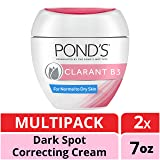 Pond's Dark Spot Corrector Clarant B3 Normal To Dry Skin, 7 Oz, Pack of 2