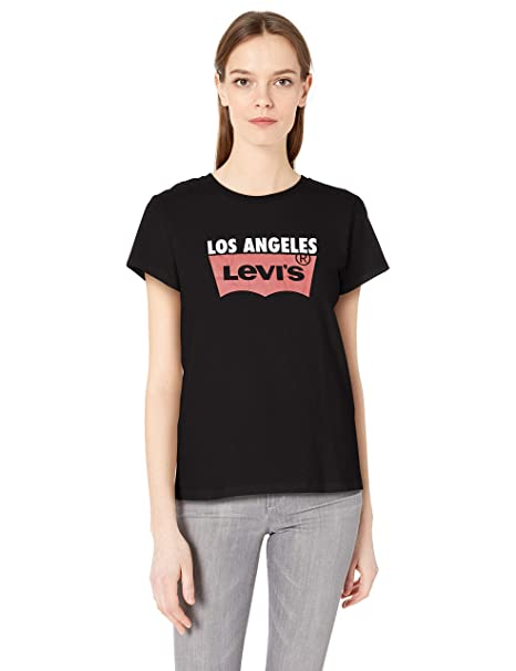 eaf68f3c58f865 Levi's Women's The Perfect Tee Shirt 2.0 at Amazon Women's Clothing ...