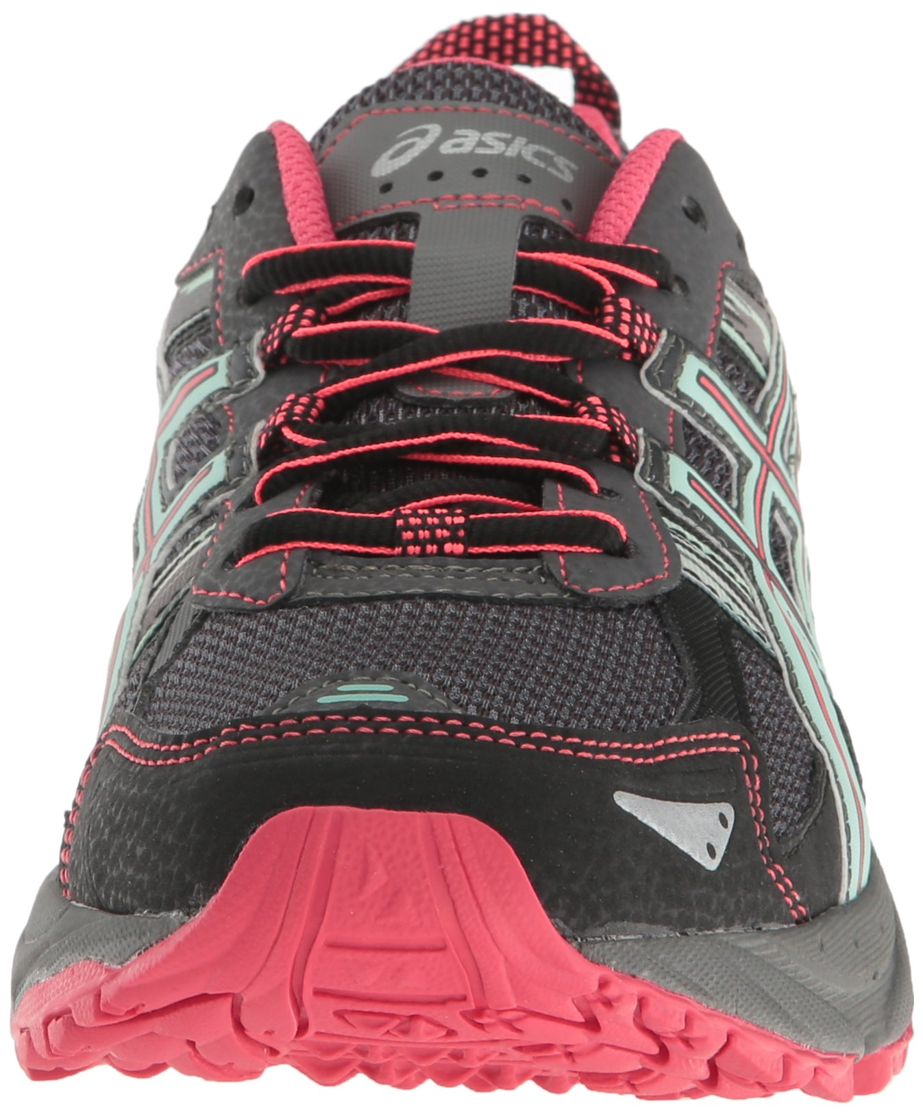 ASICS Women's Gel-Venture 5 Trail Runner, Carbon/Diva Pink/Bay, 9 M US by ASICS (Image #4)