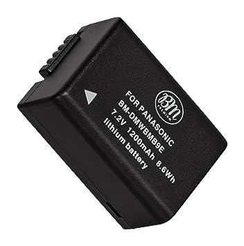 Cargador de batería para Panasonic dmc-bmb-9 dmw-bmb-9e Leica bp-dc-9 bp-dc-9e