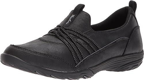 Skechers Sport Women's Empress Lets Be Real Sneaker, Black, 6.5 M Us