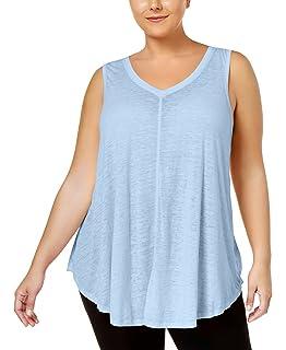 0ec529efd1d Stretch is Comfort Women s Plus Size Modal Ava Tunic Tank at Amazon ...