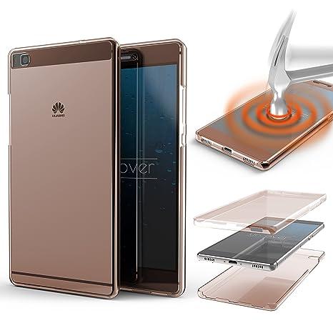 Urcover® Funda Huawei P8, Carcasa Protectora 360 Grados ...