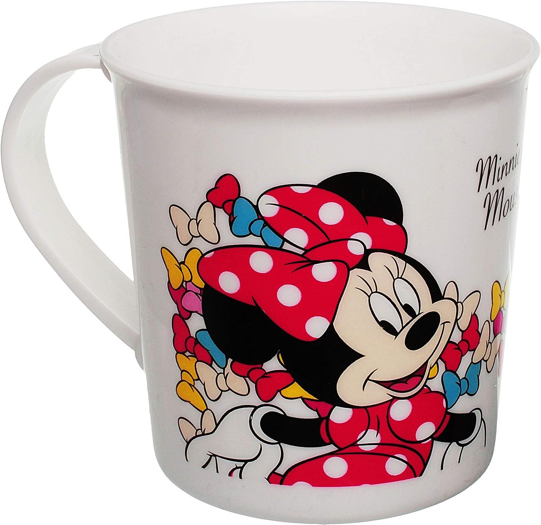 Minnie Mouse BPA frei Kunststoff Plastik Disney 250 ml Trinklerntasse // Trinklernbecher Becher .. alles-meine.de GmbH Trinkbecher // Henkeltasse Mikrowellen geeignet