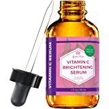 Vitamin C Brightening Serum by Leven Rose 100% Natural Dark Spot Remover for Face for Collagen Boost, Anti-Aging, Deep…