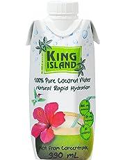 King Island 100 Percent Coconut Water, 12 x 330mL