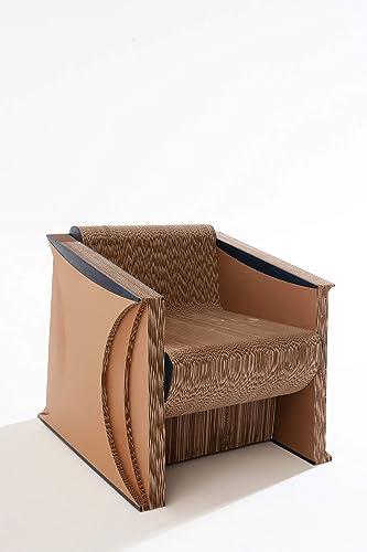 Poltrone Cartone Prezzi.Poltrona Sekkei Sustainable Design In Cartone Mod Bra Sek