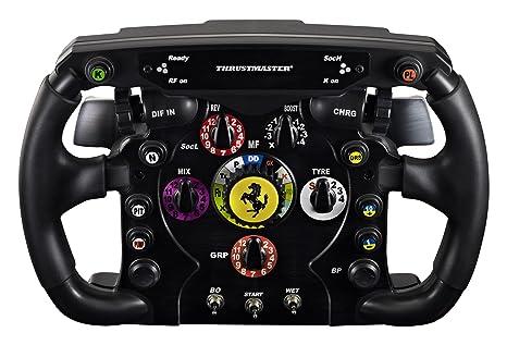 Thrustmaster F1 Wheel Add On Die Abnehmbare Ferrari 150th Italia Rennlenker Replik Fur Ps4 Xbox Pc Amazon De Games