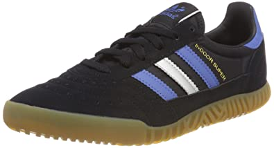 competitive price dc128 d3711 adidas Indoor Super, Sneakers Basses Homme, Noir (Core Black Trace Royal