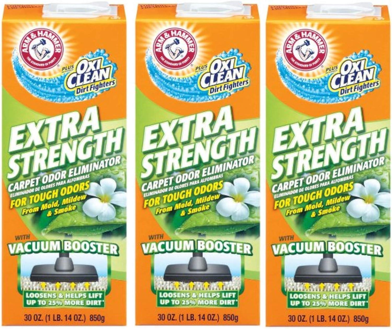 Arm & Hammer Extra Strength Carpet & Room Odor Eliminator-30 oz, 3 Pack