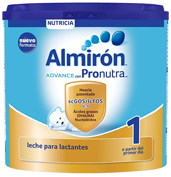 Almirón Advance con Pronutra 1 Leche de inicio en polvo a partir del primer día 400 g: Amazon.es: Amazon Pantry