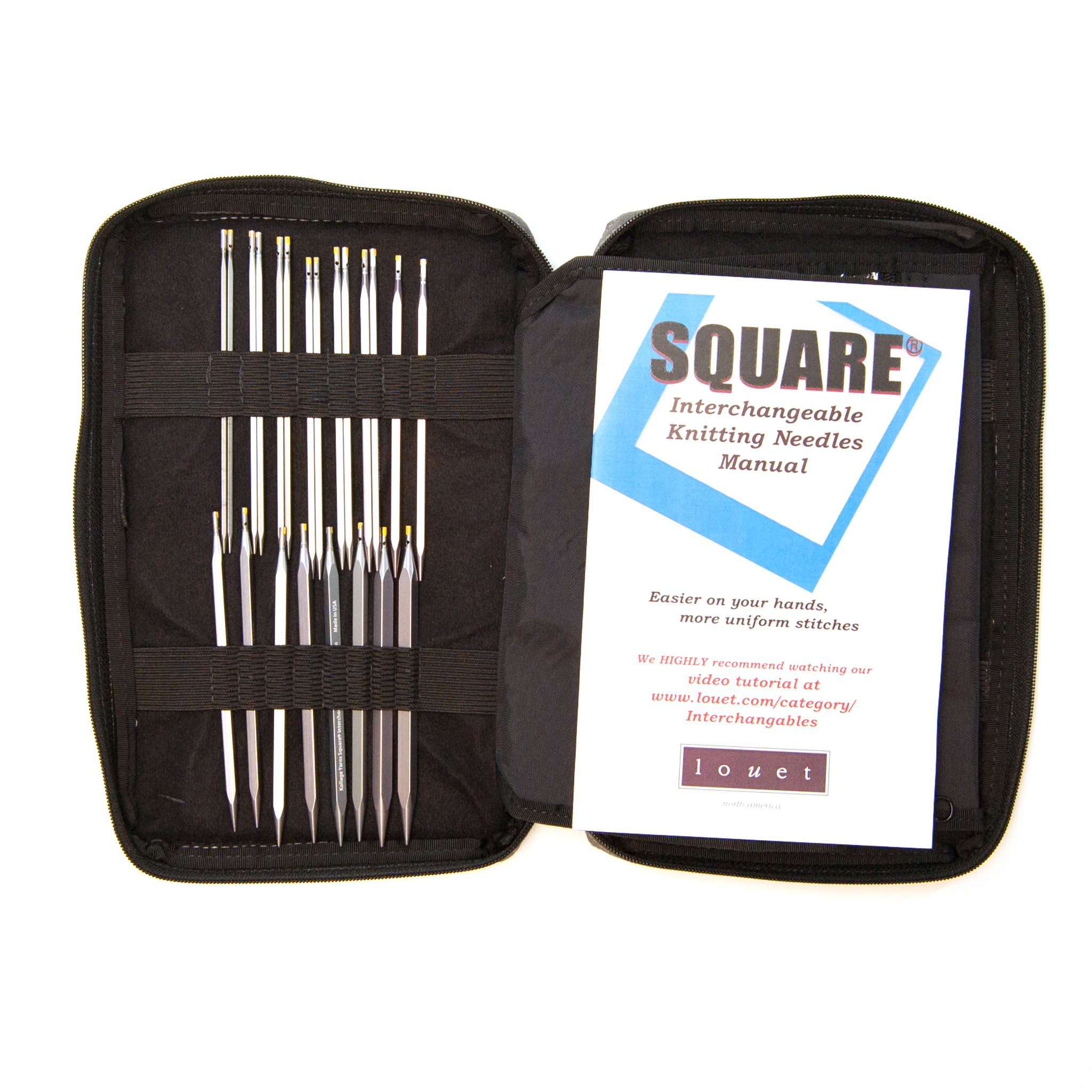 Kollage Square Interchangeable Needle Set