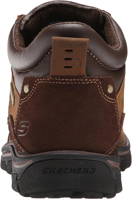 Skechers Mens Segment Melego Leather Chukka Waterproof Boot