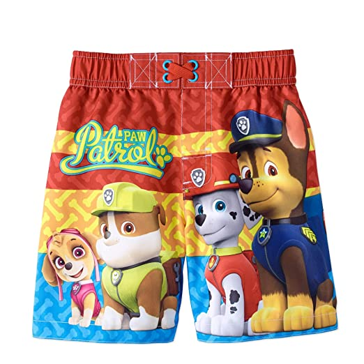 818ffb2aef Nickelodeon Paw Patrol Baby Boys Swim Trunks With UPF 50+ UV Protection (12  Months