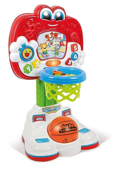 Clementoni 52187 Mon Premier Panier De Basket Premier Age Amazon