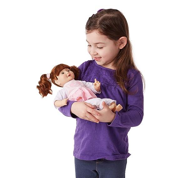 Amazon.com: Melissa & Doug Mine to Love Brianna, muñeca de ...