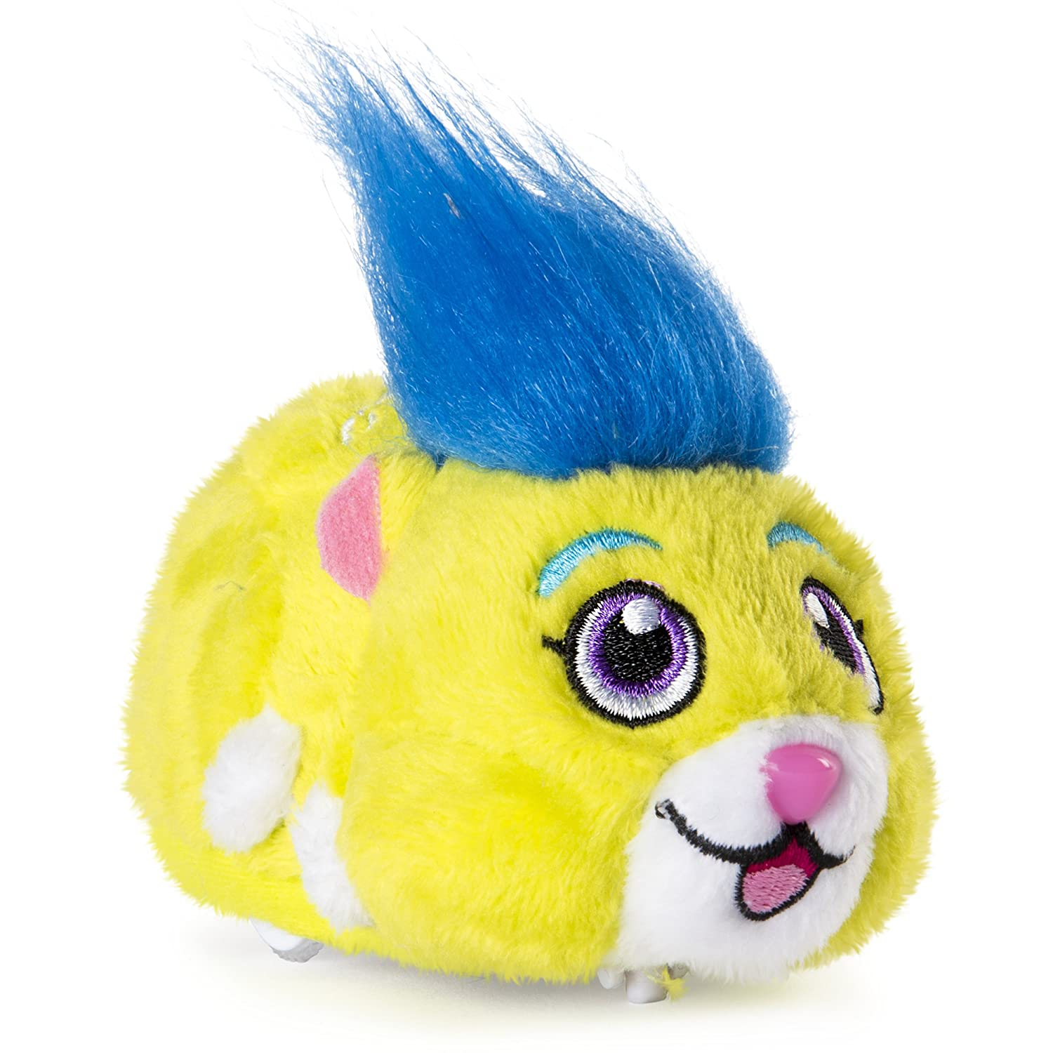 "Zhu Zhu Pets Rocky Furry 4"" Hamster Toy with Sound and Movement"