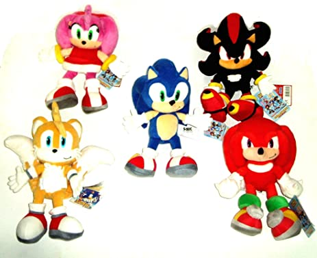 Sonic The Hedgehog & Friends Full Set 33 Cm Soft Toys