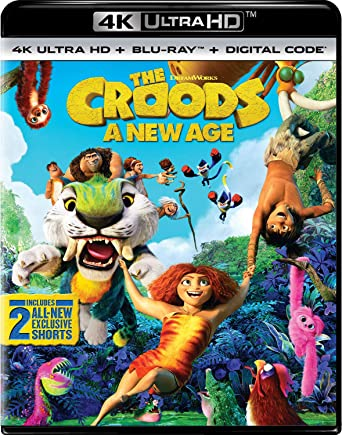 Poster. The Croods: A New Age