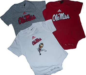 new arrival 35c57 932b7 Amazon.com: Mississippi Ole Miss Baby Infant Onesie Creeper ...