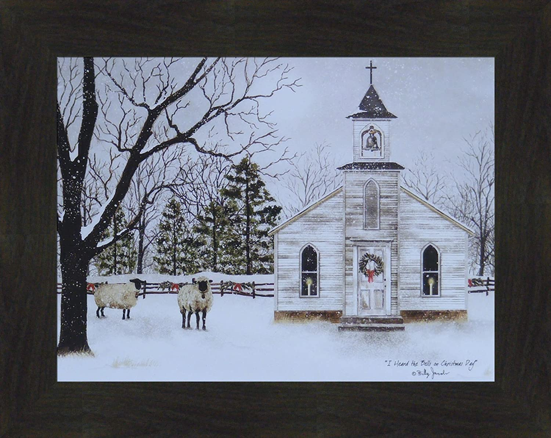 Billy Jacobs I heard the Bells on Christmas Day Art Print  16 x 12