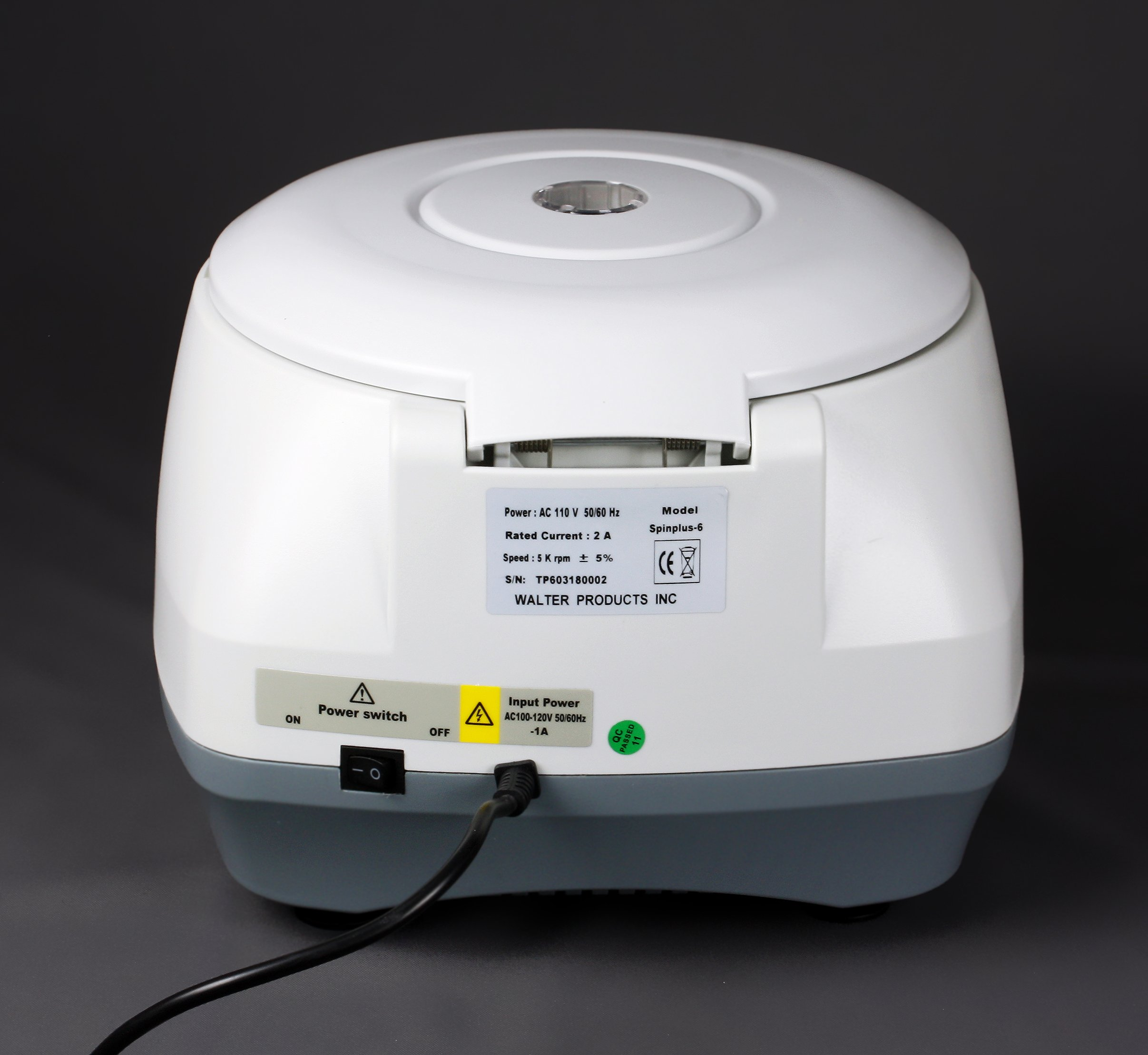 Parco Scientific Digital Bench-top Centrifuge,100-5000rpm (Max. 3074xg), LCD Display, Includes 15ML X 6 Rotor by Parco Scientific (Image #4)
