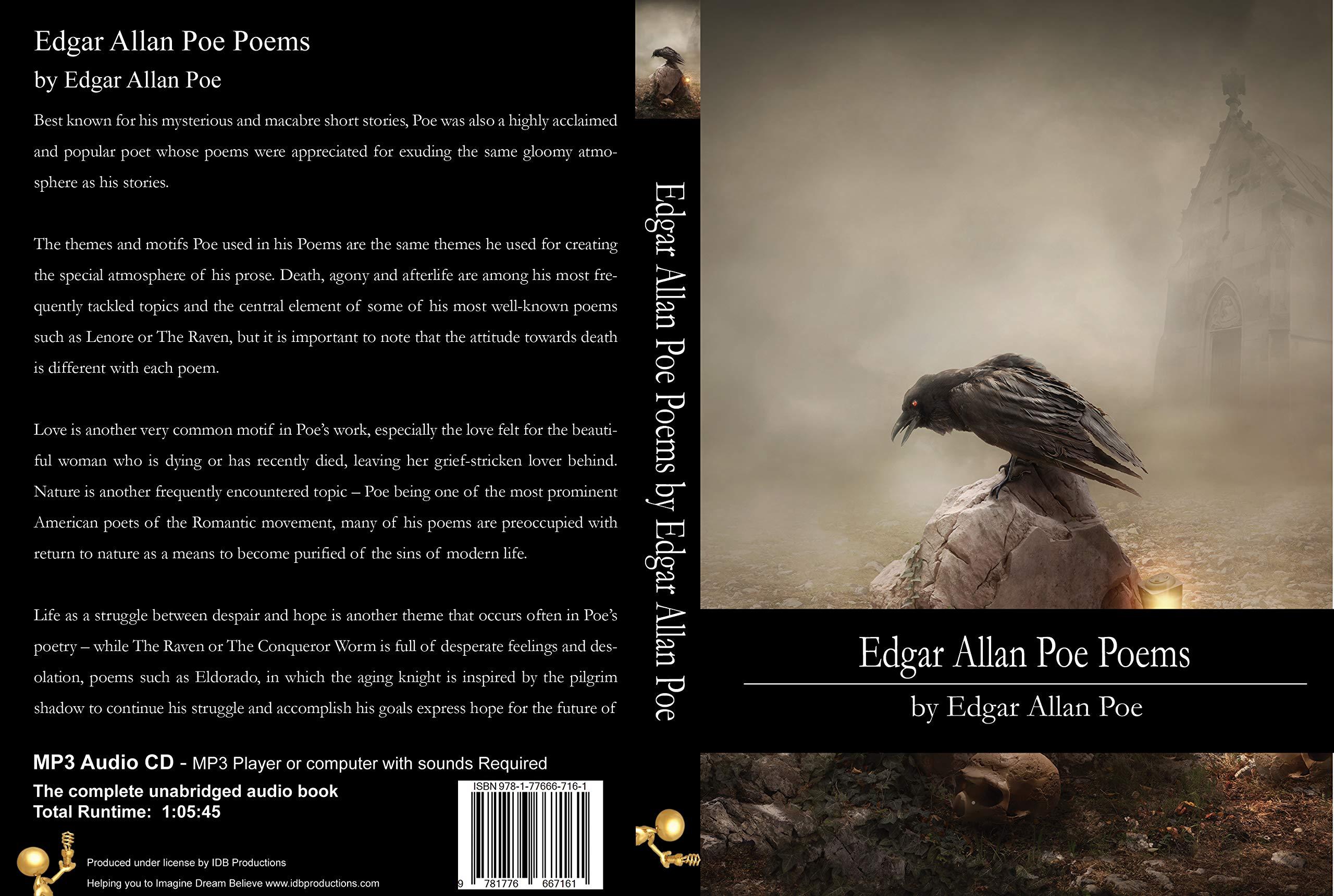 Edgar Allan Poe Poems Edgar Allan Poe 9781776667161