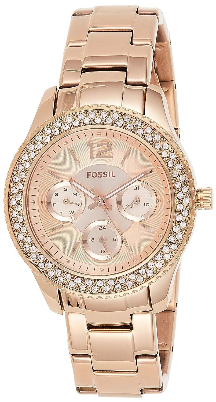Fossil Women s Stella Stainless Steel Multifunction Quartz Watch