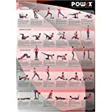 POWRX Whole Body Vibration Training Chart for Portable Vibration Fitness Machines