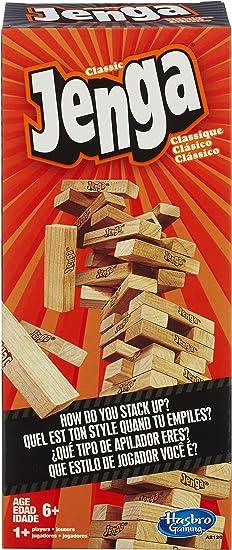 Hasbro Gaming - Jenga, Juego de Habilidad (versión en inglés): Amazon.es: Juguetes y juegos