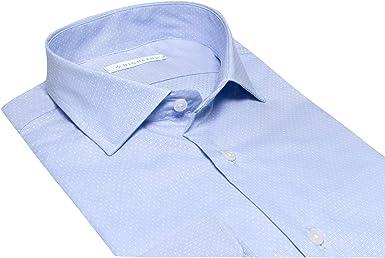 HLND Camisa Azul Topos (S): Amazon.es: Ropa y accesorios