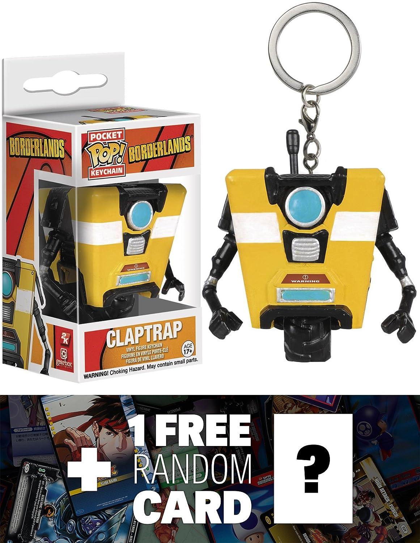 Amazon.com: Claptrap: Pocket POP! x Borderlands Mini-Figure ...