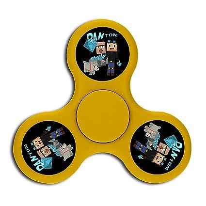 Amazon Com Dan Tdm Triangle High Speed Finger Fidget Spinners Toy