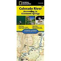 Colorado River, Kremmling to Glenwood Springs (National Geographic Fishing & River Map Guide, 2307)