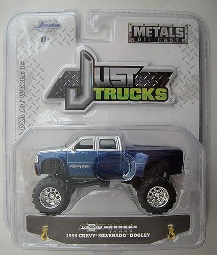 Just Chevy Trucks >> Amazon Com Jada Just Trucks 1999 Chevy Silverado Dooley