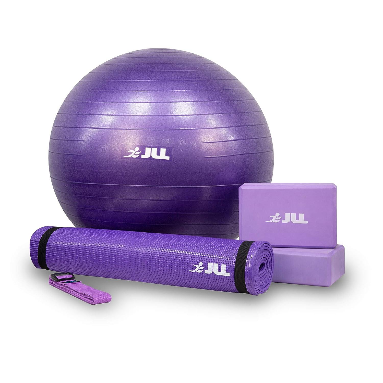 AB JLL® Juego de iniciación de yoga, 4 piezas, incluye 6 mm ...
