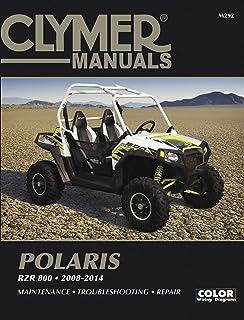 clymer - cm292 - repair manual polaris rzr800