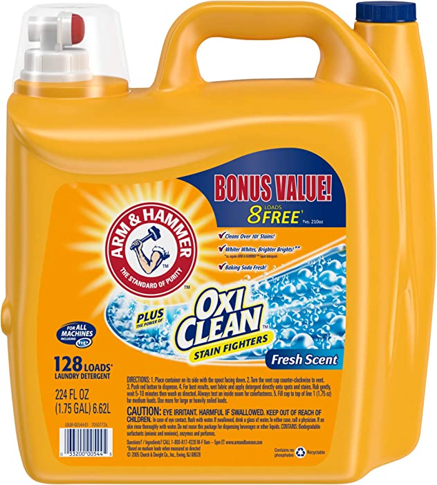 Top 6 Arm And Hammer Laundry Detergent Sensitive 16 Gallons