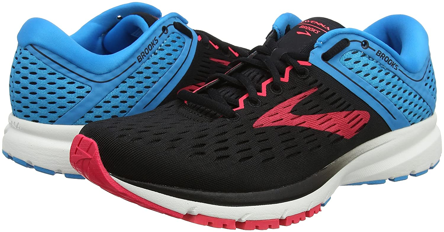 Brooks Womens Ravenna 5.5 9 B0716PZMBP 5.5 Ravenna B(M) US|Black/Blue/Pink 86b865
