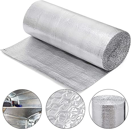 x 25 ft. Reflectix Durable Lightweight Double Reflective Insulation 48 in