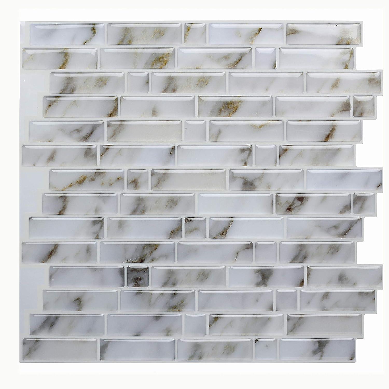 - Amazon.com: Vamos Tile Calacatta Gold Peel And Stick Tile