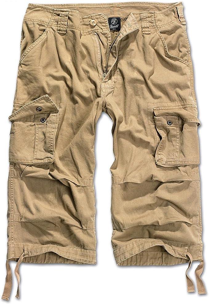 Brandit Cargo Shorts Bermuda Knee Length Shorts Summer Army New