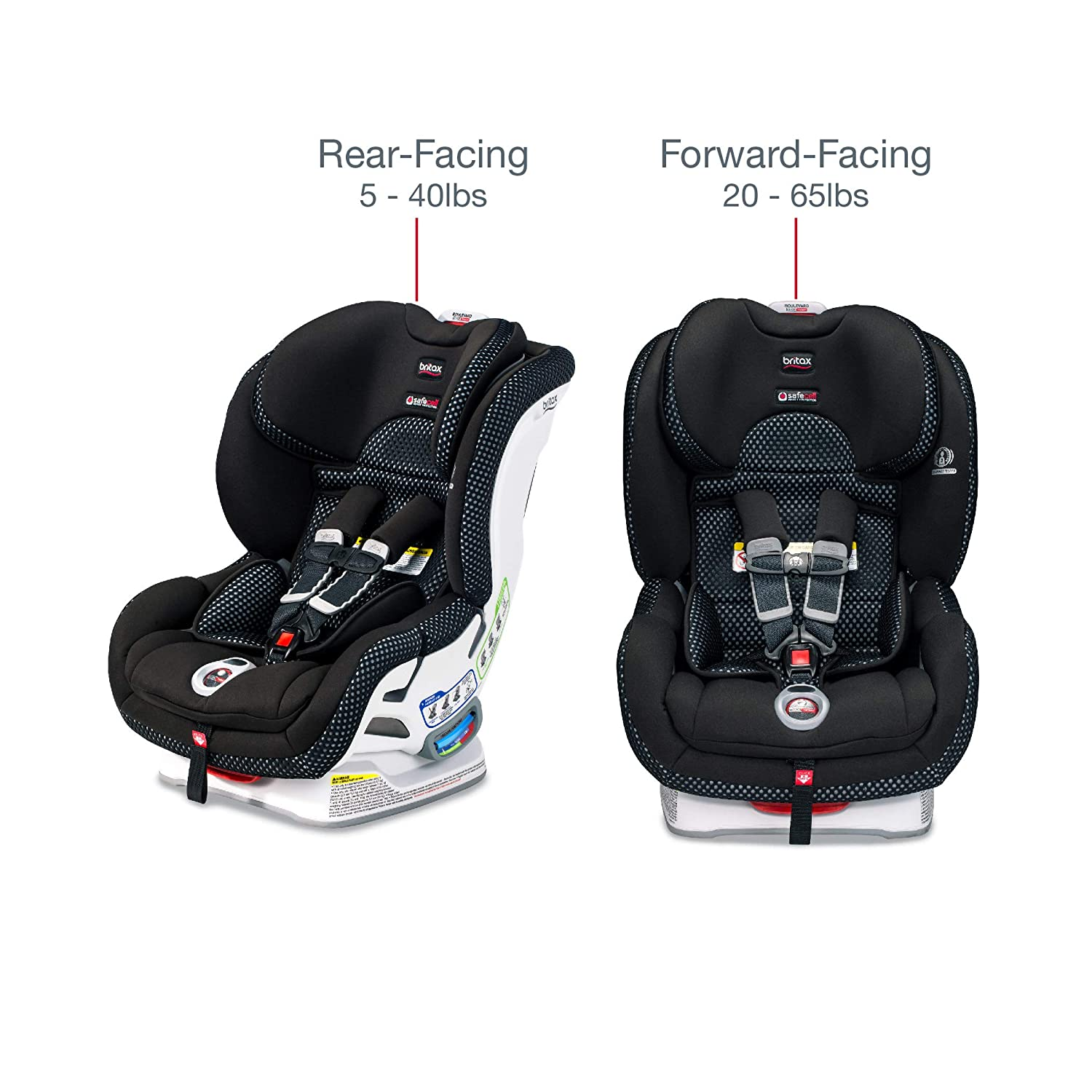 Quick Adjust Harness Britax B-Safe Ultra Infant Car Seat StayClean Fabric with Nanotex Technology 2 Layer Impact Protection Easy Installation