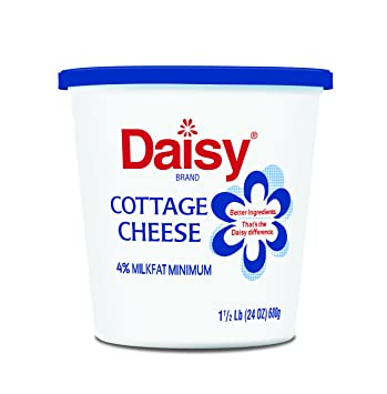 daisy 4 cottage cheese 24 oz amazon com grocery gourmet food rh amazon com daisy brand cottage cheese recipes daisy brand cottage cheese retailers
