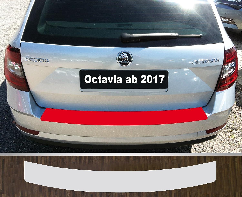 ajuste perfecto para SKODA OCTAVIA 3 Familiar 2013-2017; Película de protección pintura protección de bordes de carga TRANSPARENTE: Amazon.es: Coche y moto