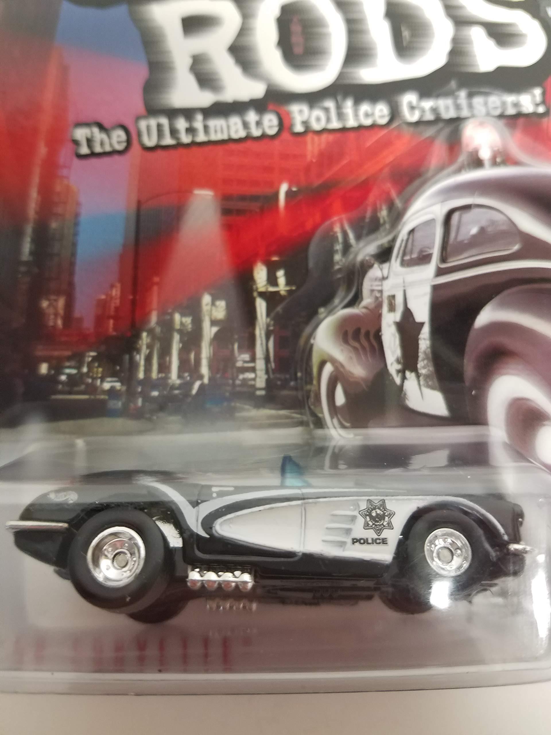 '58 Corvette 1999 Hot Wheels Cop Rods Las Vegas, NV Police Department PD